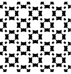 Seamless pattern smooth geometric figures vector