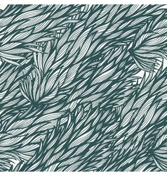 Seamless vintage hand drawn pattern vector image
