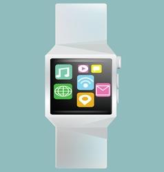 Smart watch concept vector image