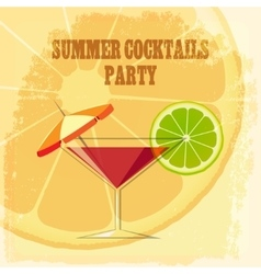 Summer Cocktail Party vector
