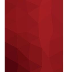 Polygonal template vector image