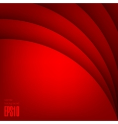 Red modern background vector image vector image