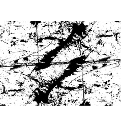 Abstract black color background vector
