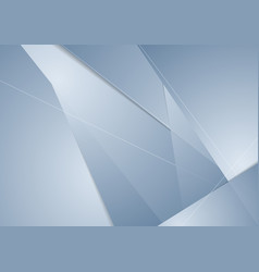 abstract blue technology polygonal corporate vector image