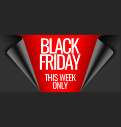 Black friday and cyber monday promotion banner vector