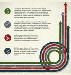 business diagram concept vector image