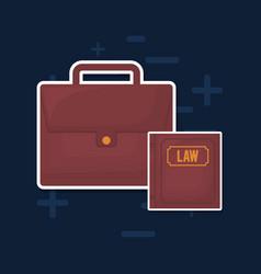Business portfolio icon vector