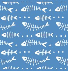 Childish marine kids pattern with underwater vector