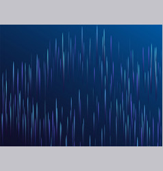 digital blue lines streams visual optic technology vector image