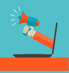 digital marketing advertisment concept vector image