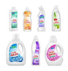 labels for chemical bottles realistic vector image