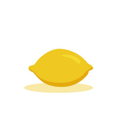 lemon icon cartoon isolated vector image