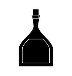 Olive oil bottle icon vector