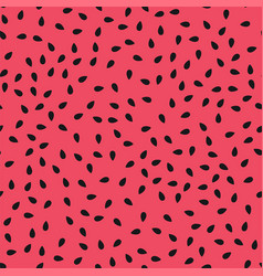 red watermelon seamless pattern vector image