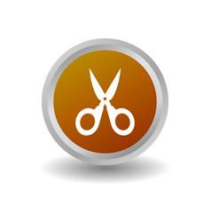 Scissor icon vector
