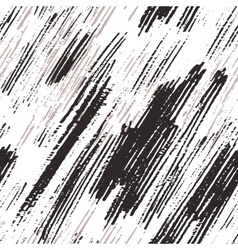 Seamless pattern with abstract hand drawn grunge vector image