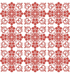 Slavic ornament for embroidery vector