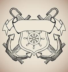 Yacht Club Label Emblem Design Elements vector