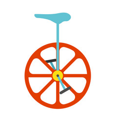 unicycle icon vintage vector image