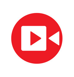 camera icon logo design vector image