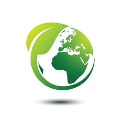 Green earth 3 vector image