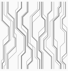 Abstract seamless pattern with lines vector