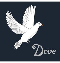 Bird dove vector