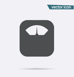 gray scales icon isolated on background modern fl vector image