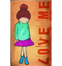 loveme vector image