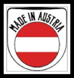 Made in Austria sign vector image