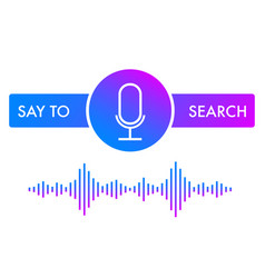 sound assistant icon vector image