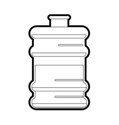water gallon vector image
