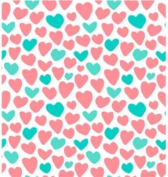 Wedding Valentin day seamless pattern vector image