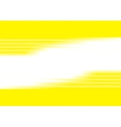 Yellow blurred stripes bright corporate background vector image