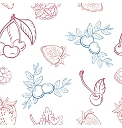 BerryPattern53 vector image