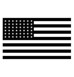 48 star united states flag 1912 vintage vector