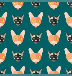 cats cute animal seamless vector image