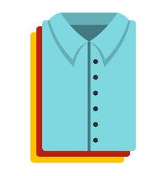 clothes icon flat style vector image