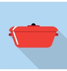 Cooking stewpot vector