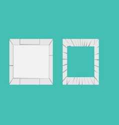 Crack-frame vector