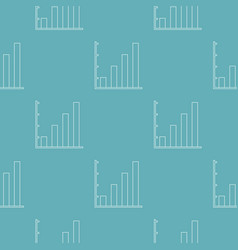 finance chart pattern seamless vector image