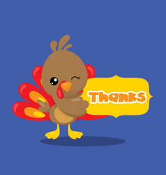 Gobble give thanks banner thanks 03 vector