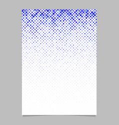 square pattern brochure design - tiled mosaic vector image