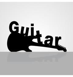 Guitar6 vector image vector image