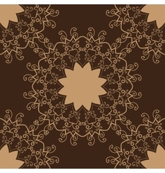 Vintage pattern Hand drawn abstract tile vector image