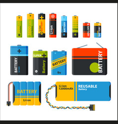 Battery energy electricity tool vector