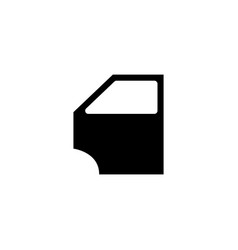 car door icon concept for vector image