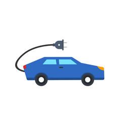 electric car icon vector image