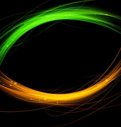 Fusion abstract background flare speed line vector image