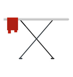 ironing board icon flat style vector image